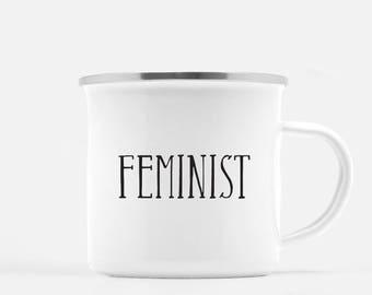 Feminist coffee mug Nasty Woman coffee mug Nevertheless she persisted feminism coffee mug feminist gift Nasty Woman Mug camp mug