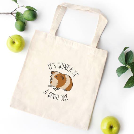 Luxury Guinea Pig Tote Bag