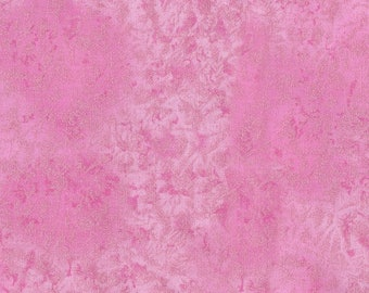 Michael Miller Fabric Fairy Frost Cotton with Metallic in color pink, Choose your cut