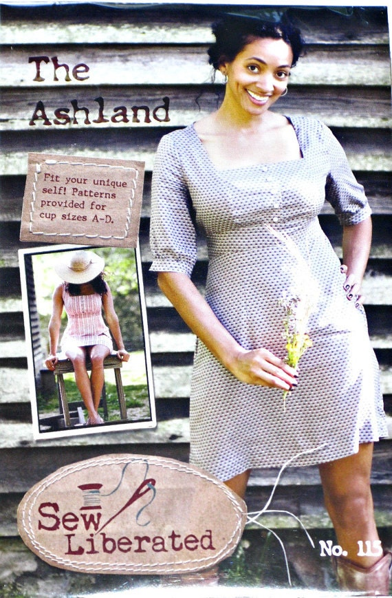 The Ashland Dress by Sew Liberated Sewing Pattern | Etsy