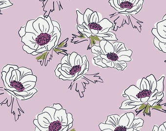 Anemone Cascase, Trouvaille Collection Art Gallery Fabric Choose your cut, Cotton Quilt Fabric