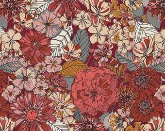 Fleuron Sanctuary, Kismet Collection Art Gallery Fabric Choose your cut, Cotton Quilt Fabric