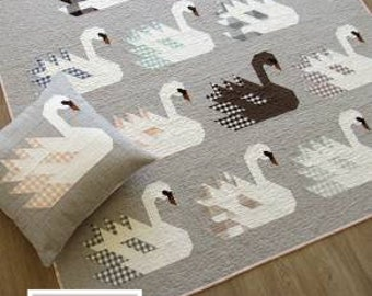 Swan Island Quilt Pattern by Elizabeth Hartman