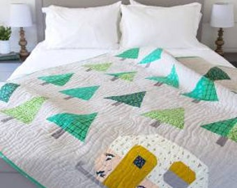 Up North Quilt Pattern by Pen and Paper Patterns