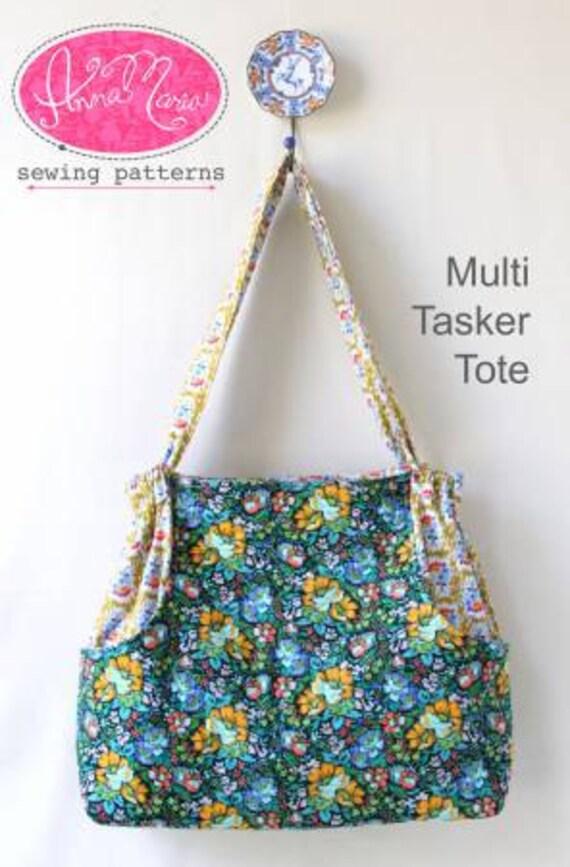 Multi Tasker Tote Anna Maria Horner Sewing Pattern | Etsy