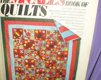 The McCall's Book of Quilts - Hard Cover - 1975