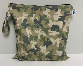Wet Bag, Heat Sealed Wet Bag, Cloth Diaper Bag, Travel Bag, Toiletry Bag, Makeup Bag, Gym Bag, Cosmetic Bag, Rose Bag, Reusable Bag