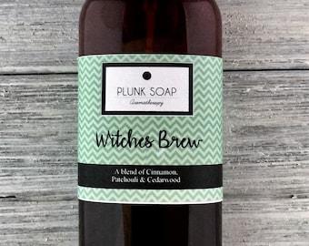 Witches Brew Body Spray: Body mist, linen spray, aromatherapy, skin care, fragrance spray, perfume
