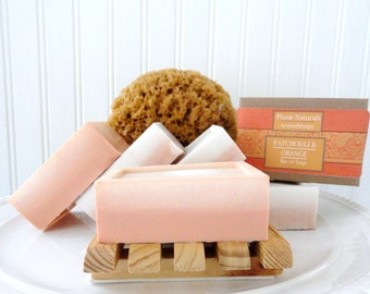 PATCHOULI and ORANGE All Natural Glycerin Soap