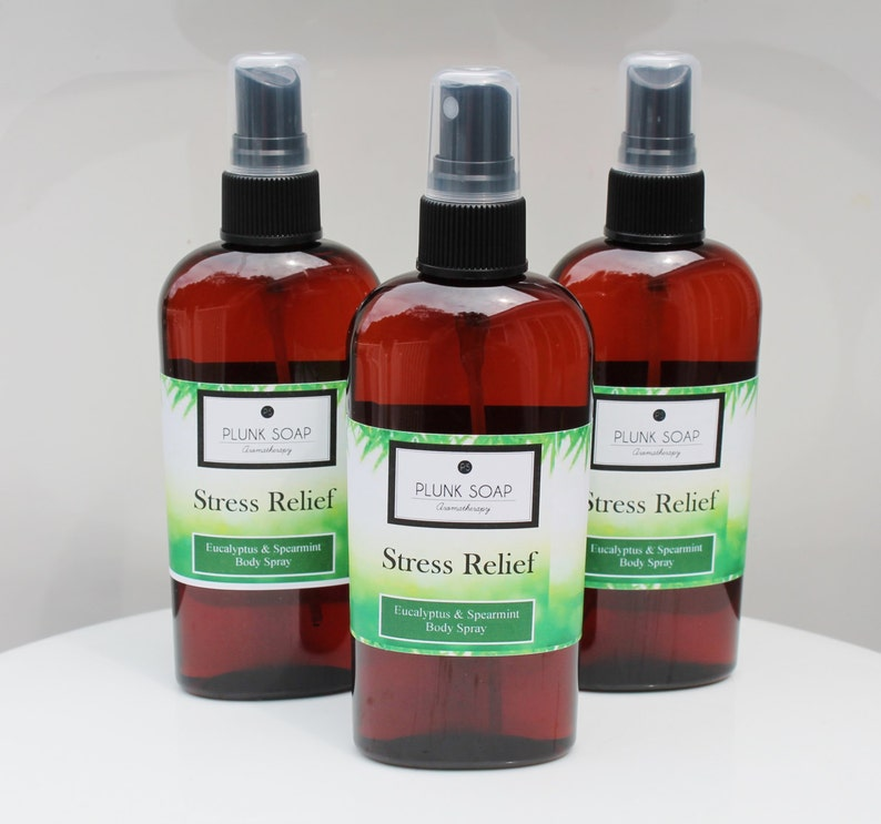 STRESS RELIEF Body and Room Spray Eucalyptus and Spearmint image 0