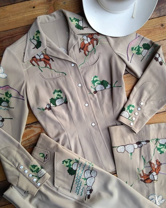 RESERVED - Rare Vintage 1940s 1950s Vaquero Wester