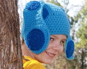 Blues Clues Crochet Hat, Youth Size