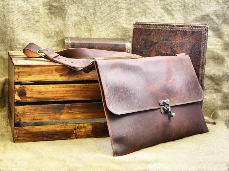 83d4079c47 Leather Messenger Bag Men s Leather Satchel Distressed