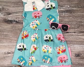 Girls Pink Flutter Cow Jumper Set Necklace Bow Farm Outfit 2T-8
