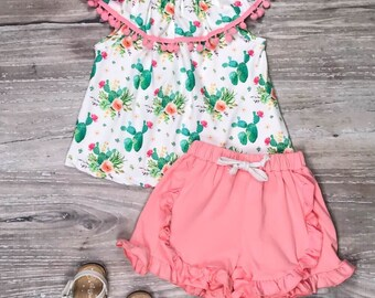 NEW Girls Boutique Ruffle Pink Long Sleeve Floral Blue Dress 4T 5-6 6-7 7-8
