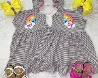 0b44ab628e060 Matching sister dresses | Etsy