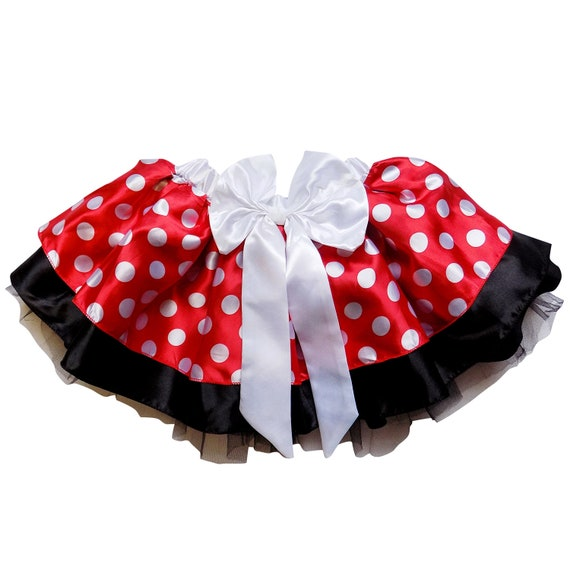 bee21f81b51 Minnie Mouse Princess Sparkle Running Costume Skirt Race Tutu