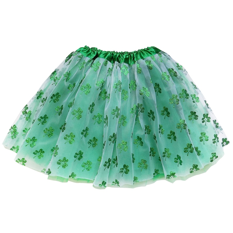 4eba94eda Shamrock Sparkle ADULT TUTU Skirt PLUS or Kids Tutu Skirt | Etsy