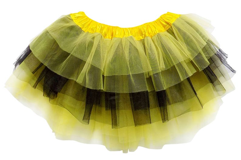 6fc18b8894 Bumblebee Bee 6 Layer TUTU SKIRT Kid Adult or Plus Size | Etsy