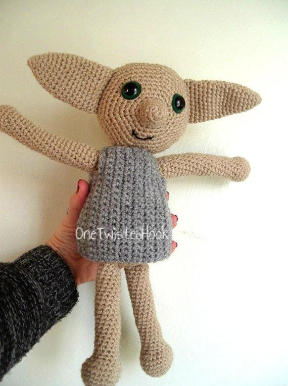 Elfe Puppe Haus Elfe Puppe Häkeln Haus Elf Häkeln Amigurumi Etsy