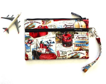 Family Passport and Boarding Pass Holder - Passport Wallet - Large Travel Wallet - Travel Organizer - Travel Document Holder - Travel Bag