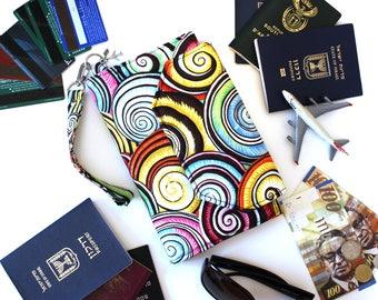 Family Travel Wallet - Family Passport Holder - Family Passport Wallet - Passport Organizer - large travel wallet - large passport holder