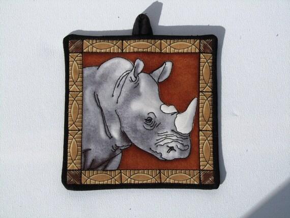 Items Similar To Shabbat Light Switch Cover Mini Quilt Rhino