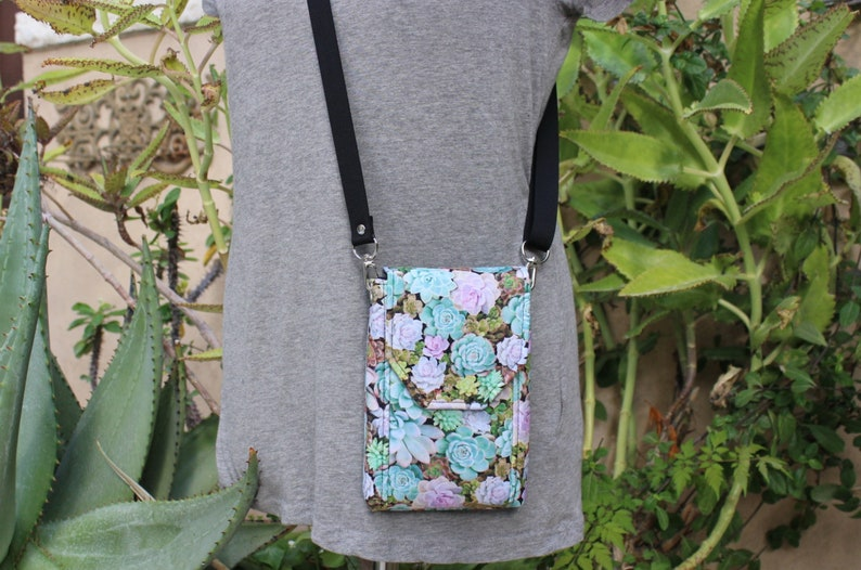 gardening gift for women wife mom cell phone purse crossbody phone bag unique gift for garden lovers succulent gift ideas for gardeners
