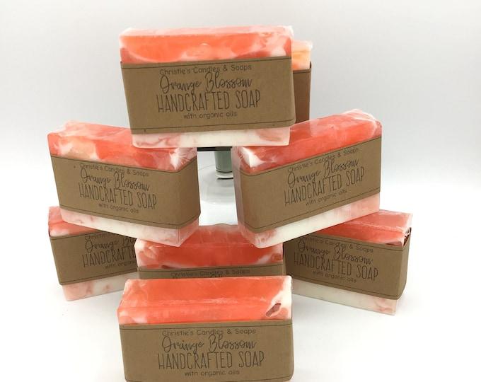 Orange Blossom Organic Glycerin Soap Slices - HIGHLY FRAGRANCED