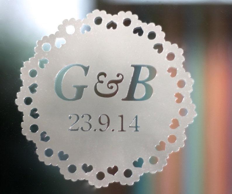 Personalised Wedding Decoration Sticker image 0