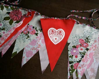 Bespoke wedding bunting