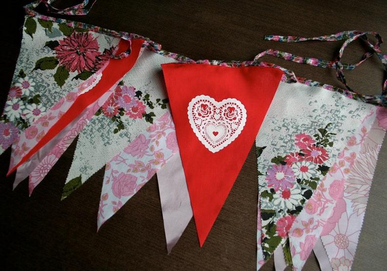 Bespoke wedding bunting image 0
