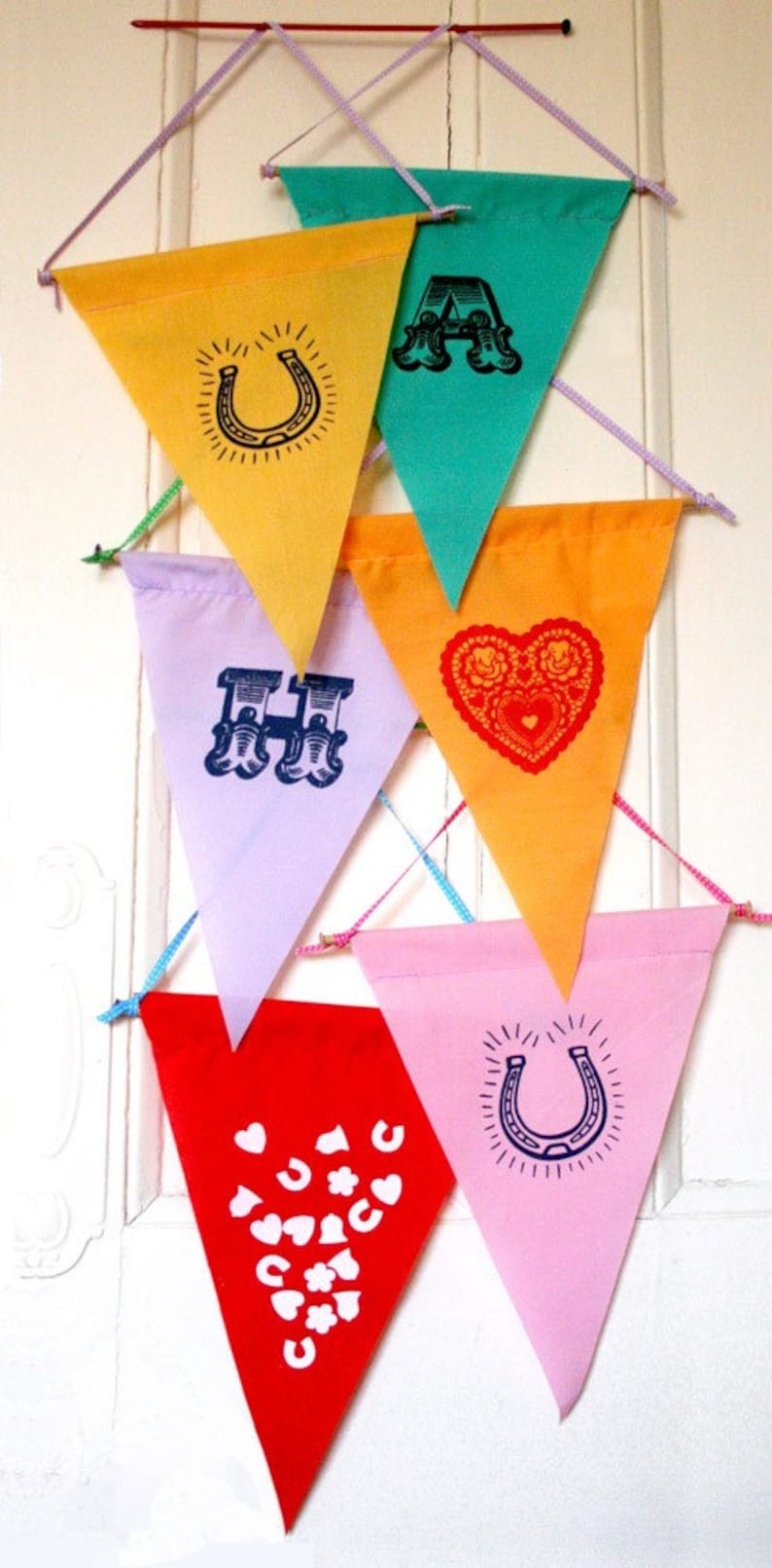 Flag / pennant wall decoration image 0