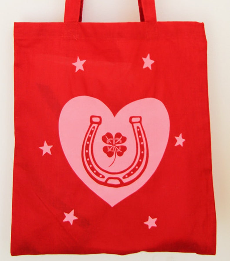 Love & Luck Tote Bag image 0
