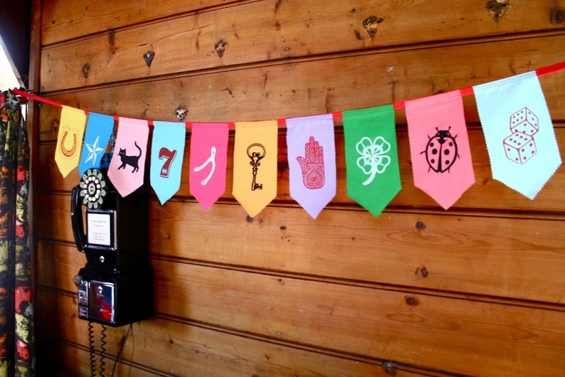 Lucky bunting image 0