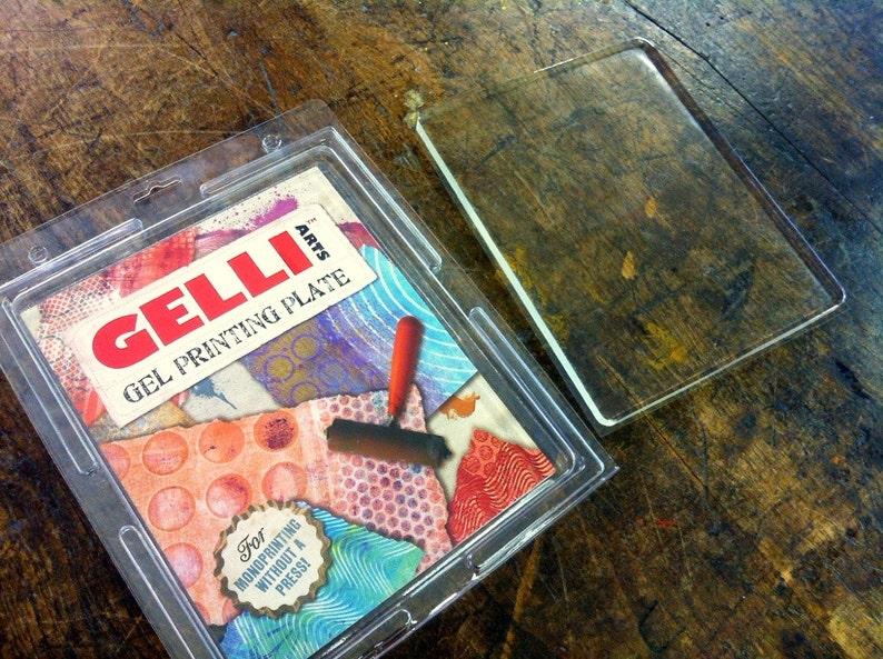 Gelli Arts 8x10 durable monoprinting gel plate image 0