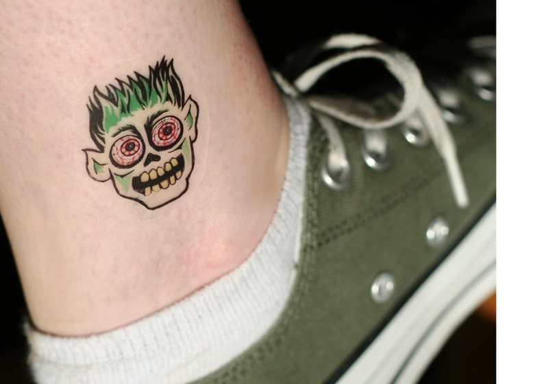 Ghoul & Monster Temporary Tattoos image 0