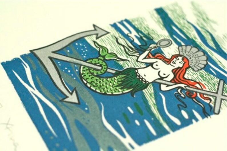 Mermaid Gocco Print image 0