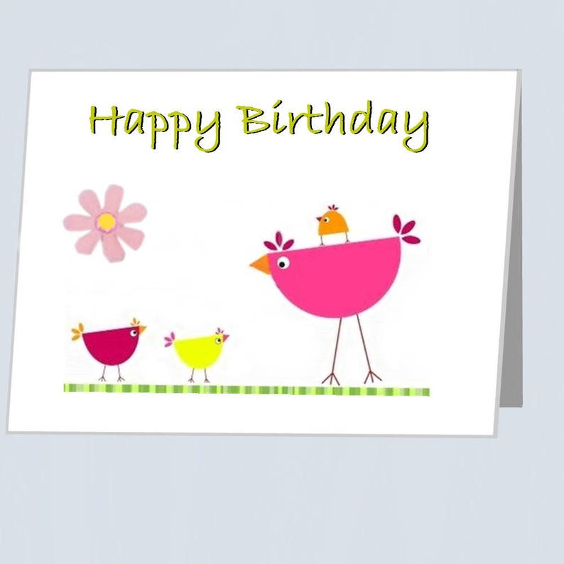 Happy Birthday Card UK Greeting Cards With Embellishments