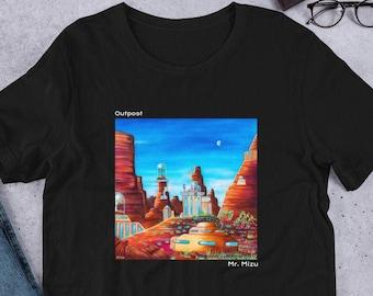 Outpost by Mr. Mizu on Short-Sleeve Men'/Women's T-Shirt