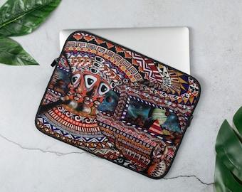 Dimensional Mind Transfer by Mr. Mizu on Laptop Computer Sleeve