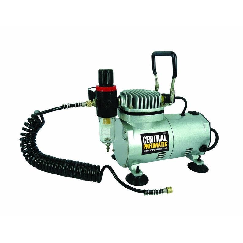 Airbrush Compressor  Central Pneumatic Air Compressor image 0