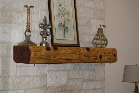 Custom Made Cedar Fireplace Mantel Handcrafted To Order Etsy