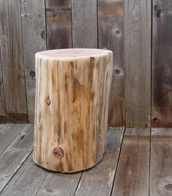 Superieur Tree Stump Side Table, Timber End Table, Tree Log Table Base, Reclaimed Wood  Live Edge, Reclaimed Side Table, 3 Sizes, Natural Wood Stump