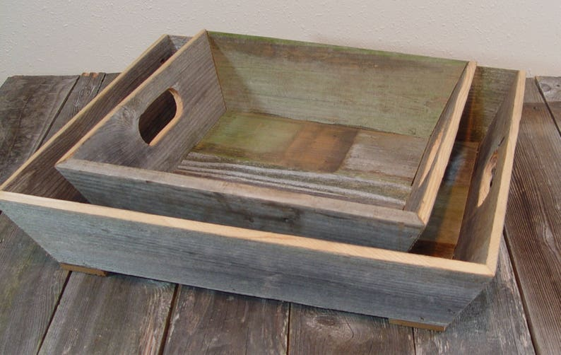 Excellent Farm Table Tray Vintage Inspired Reclaimed Cedar Decor Serving Tray With Handles Large Farm Tray Farm House Inspired Decor Texas Cedar Interior Design Ideas Gentotthenellocom