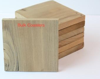 Cedar Coasters, Wood Coasters, Reclaimed Cedar Wood Coasters, square wooden coasters, reclaimed cedar wood, drink coaster, beverage coaster