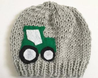 dc091fc6366 Newborn Tractor Hat