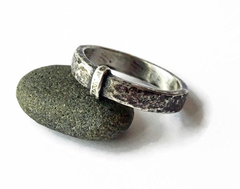 Celtic Sassenach Blacksmith SET Solid Sterling .925 Sporran Key Ring /& Earrings Outlander Engravable Claires Wedding Band