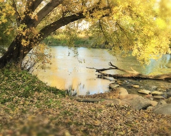 River Photography - River View Photo  - Nature Photography Card - Landscape Photography