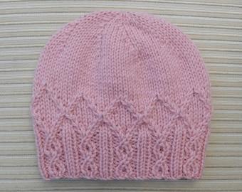 "Knitting Patern Hat ""Adeline"" #222"